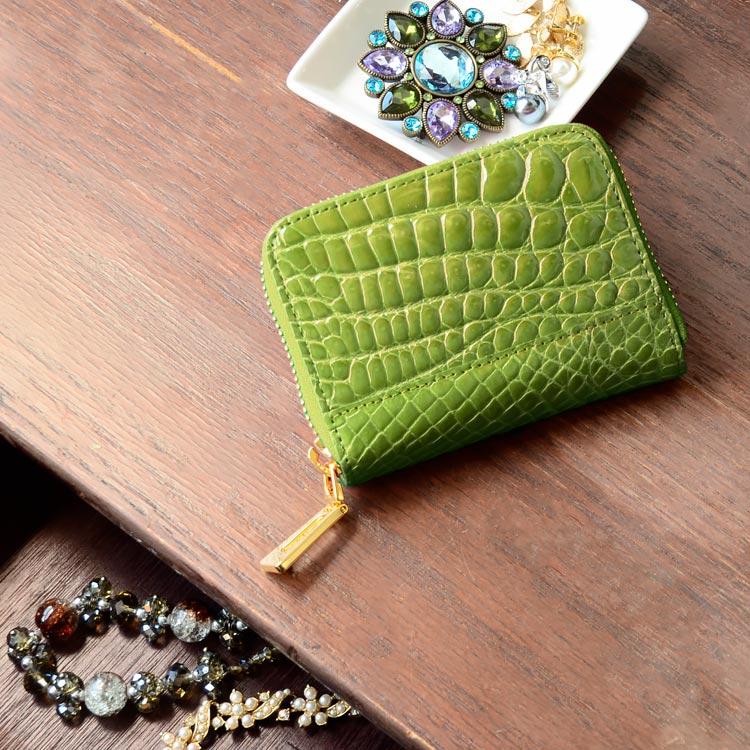 クロコダイル コンパクト 小さい財布