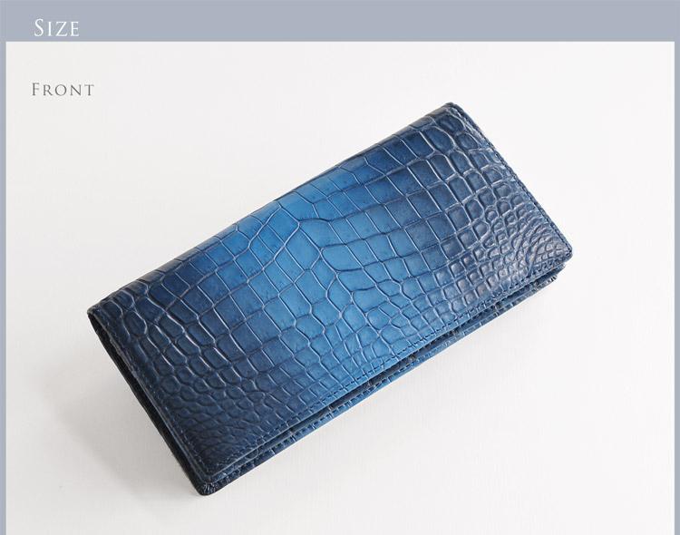 クロコダイル  財布 サイズ