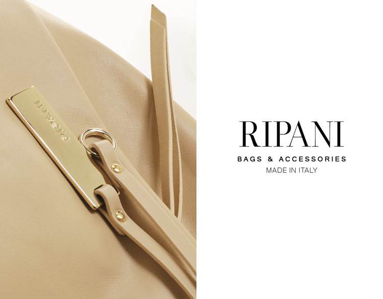 RIPANI リパーニ イタリア製 牛革 ショルダーバッグ ソフト レザー レディース ハンドバッグ