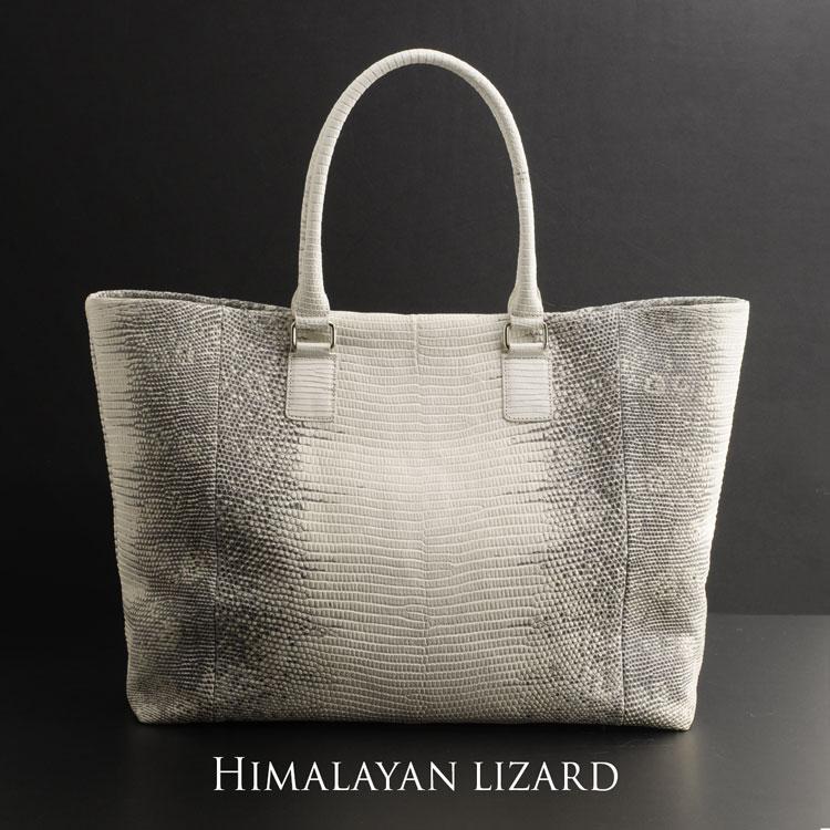 ヒマラヤ リザード リングマークトカゲ トートバッグ A4対応