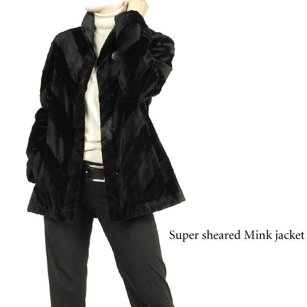 スーパーシェアードミンクジャケット