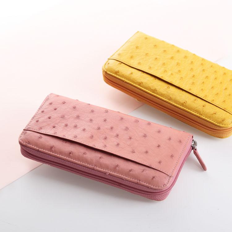 レディース財布 ピンク 黄色