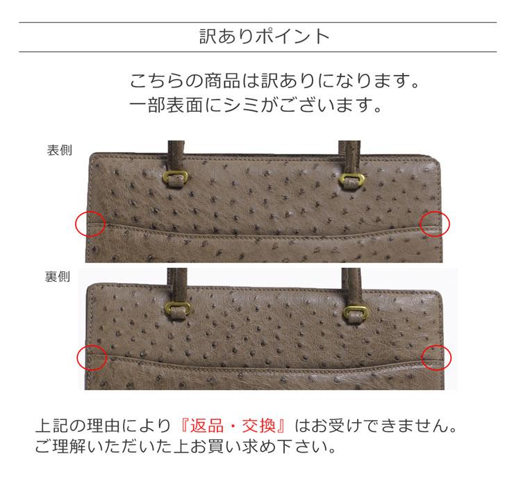オーストリッチ レディースバッグ 2wayバッグ 2way 実用的 実用性 汎用性 ショルダーバッグ ハンドバッグ メンズバッグ ユニセックス