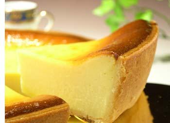 こってり濃厚なチーズケーキ