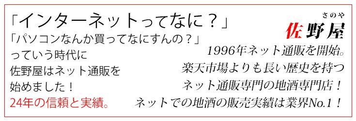 佐野屋は1996年にEコマースに参入。