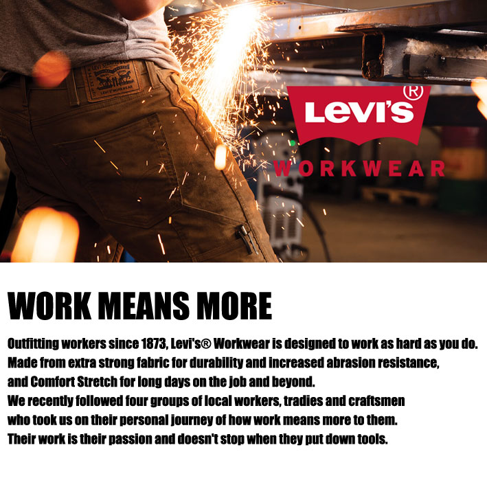LEVI'S 505 WORKWEAR。