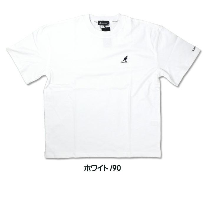 KANGOL perception goal short sleeves T-shirt one point logo embroidery  T-shirt men gap Dis unisex 9273-0008B