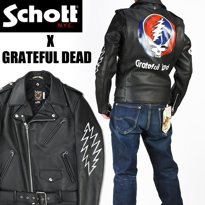 Schott x GRATEFUL DEAD