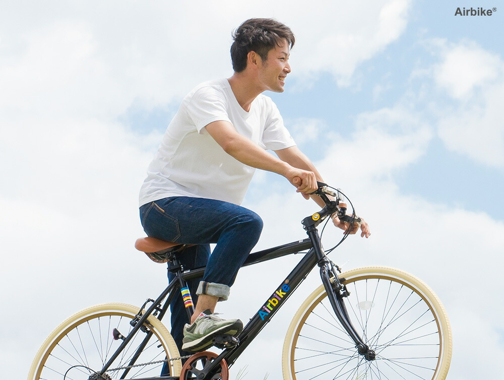 【最安値に挑戦】ロードバイクとマウンテンバイクの良いとこどりのクロスバイク!日本で設計&企画 女性でも乗りやすい26インチタイヤ 前後輪泥除け付き!
