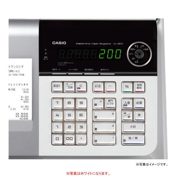 電子レジスター(8部門) レッド