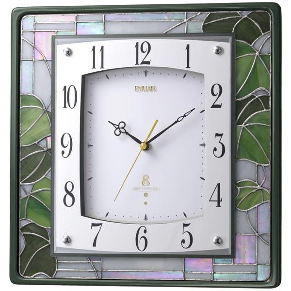 掛時計 エミュエールM9F 緑光沢仕上