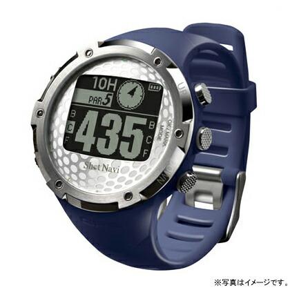 Shot Navi ネイビー 腕時計型タイプ