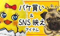 パケ買い&SNS映えアイテム