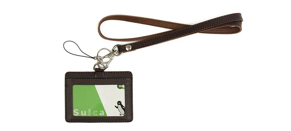 IDカードケース S ネックストラップ付き
