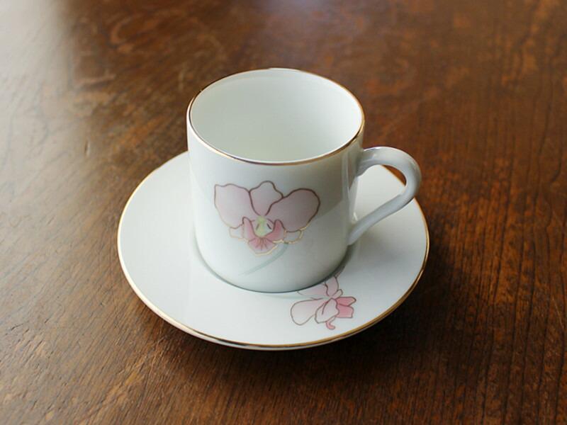 カトレア コーヒーカップ&ソーサー