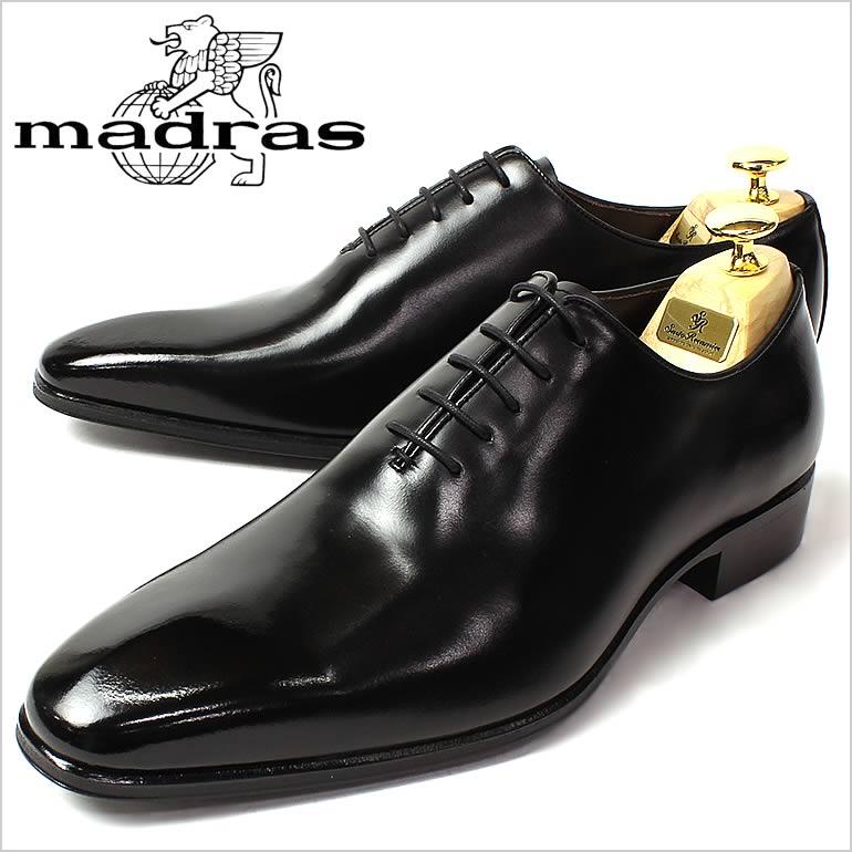 マドラス 革靴 madras ビジネスシューズ 靴 ドレスシューズ 紳士靴 メンズ 男性用/M222,BLA [マドラス 革靴 ビジネスシューズ 本革  日本製]