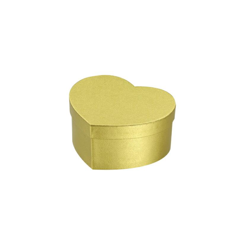 貼箱 ハート 100-50 ゴールド