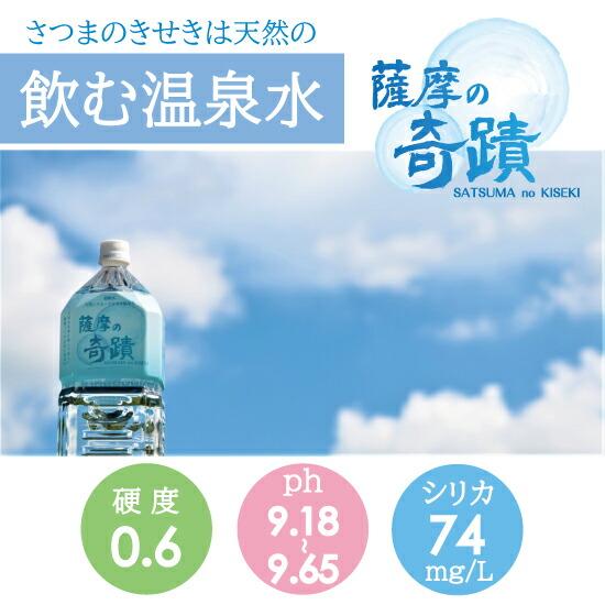 飲む温泉水薩摩の奇蹟