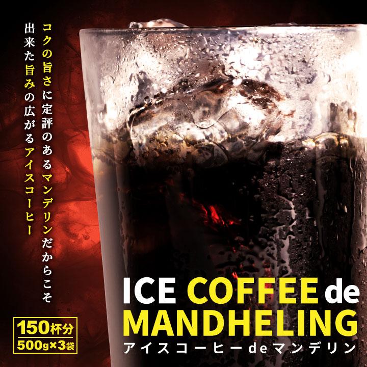 アイスコーヒーdeマンデリン150杯分福袋