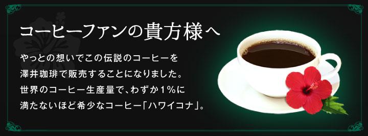 やっとの想いでこの伝説のコーヒーを澤井珈琲で販売することになりました