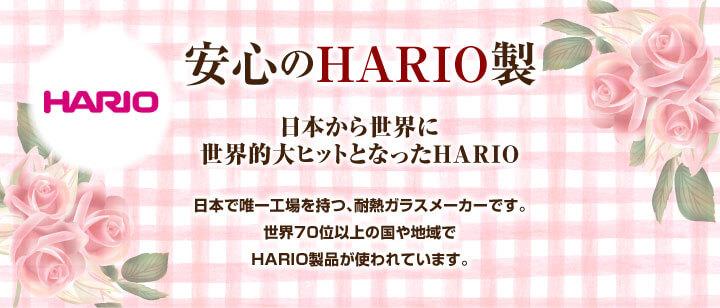 安心のHARIO製