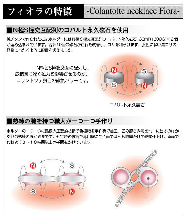 S極N極交互配列のコバルト永久磁石を使用 熟練の腕をもつ職人が一つ一つ手作り