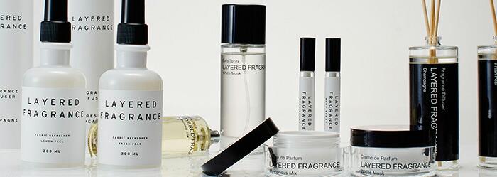 香る 重ねる 香水 フレグランス