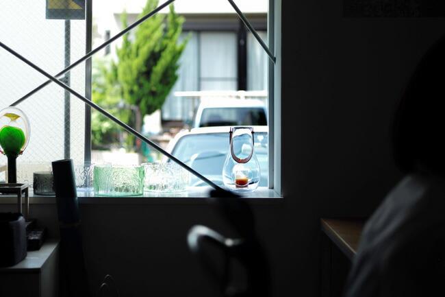 エアコン入れないで済む時期は窓を開け放ちたいですから、ランタンキャンドルホルダーの出番なのです。