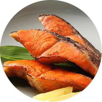 魚(鮭・西京漬)