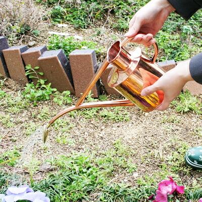 【ジョウロ】Haws 銅製カン