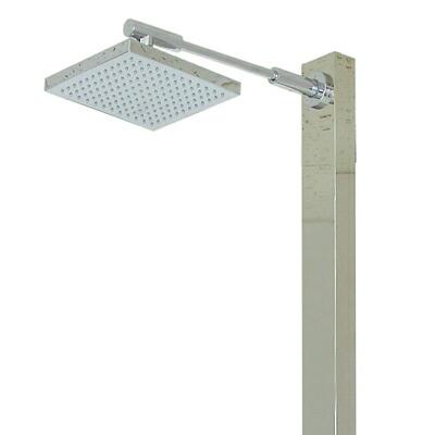 【屋外用シャワー&立水栓】スクエアロング