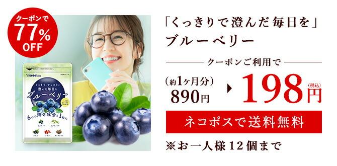 ブルーベリーがクーポンで155円