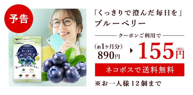 【予告】ブルーベリーがクーポンで198円
