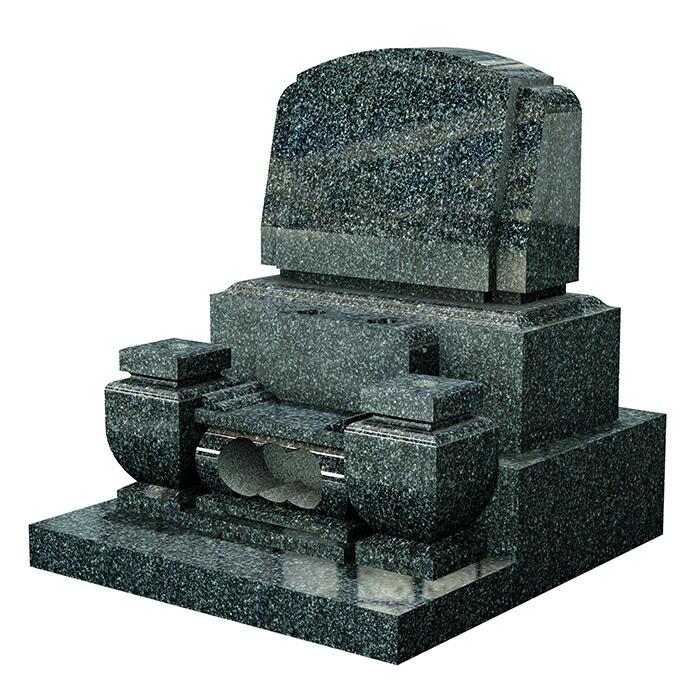 洋型墓石 夢幻 G663 花瓶・経机型