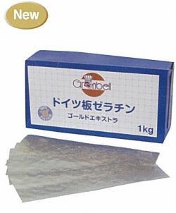 【グランベル】板ゼラチンゴールドエキストラ 1kg