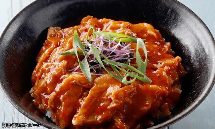 【ヤヨイ】どんぶり屋豚丼の具(キムチ味)1食(110g)