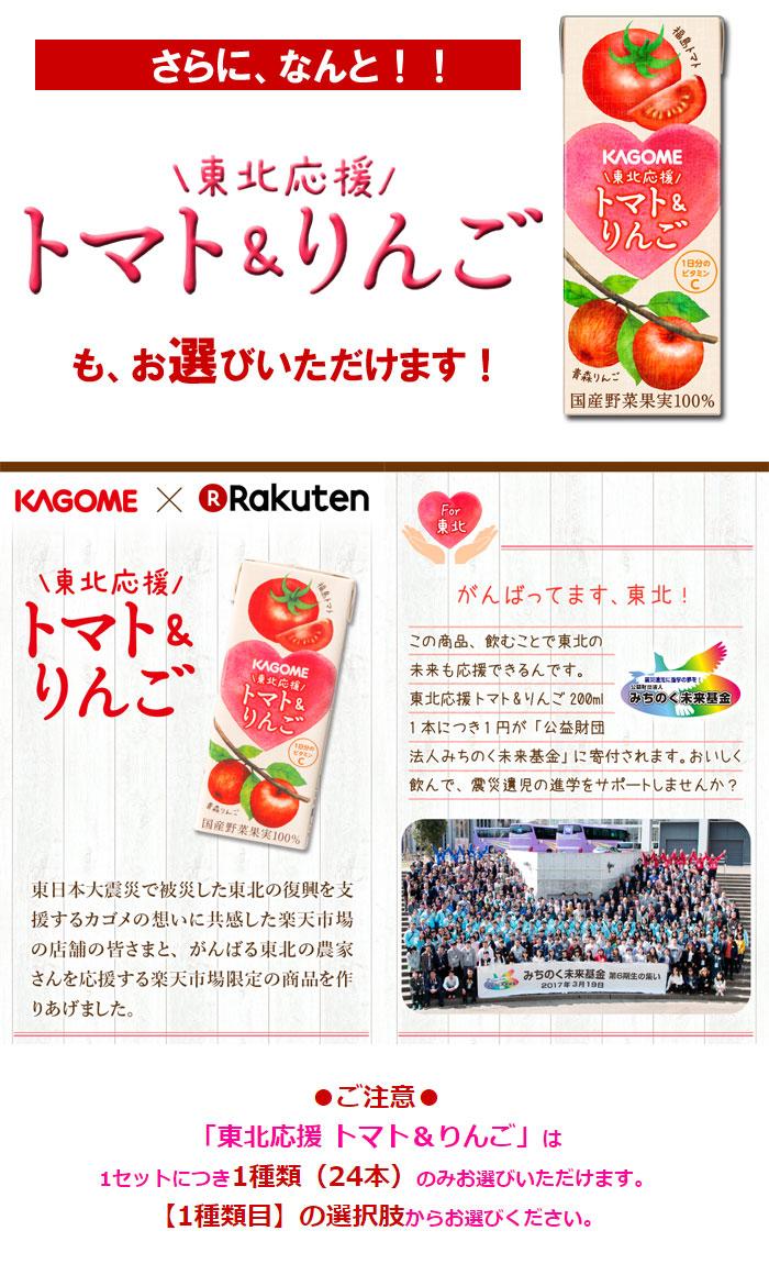 トマト&りんご