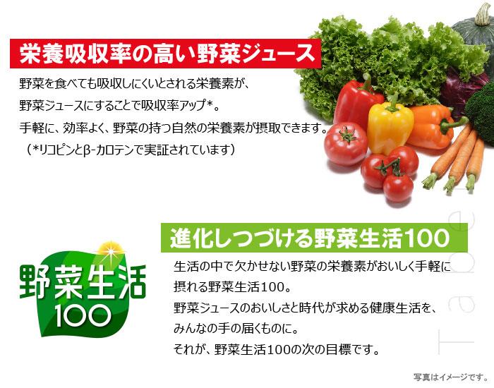 進化しつづける野菜生活100