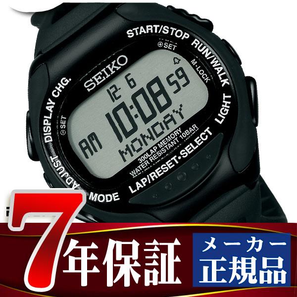 d366db04b8 SEIKO PROSPEX セイコー プロスペックス スーパーランナーズEX デジタル腕時計 ランニングウォッチ ブラック×ブラック SBDH015