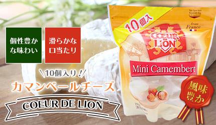 【COEUR DE LION】クールドリオンカマンベールチーズ10個入り!