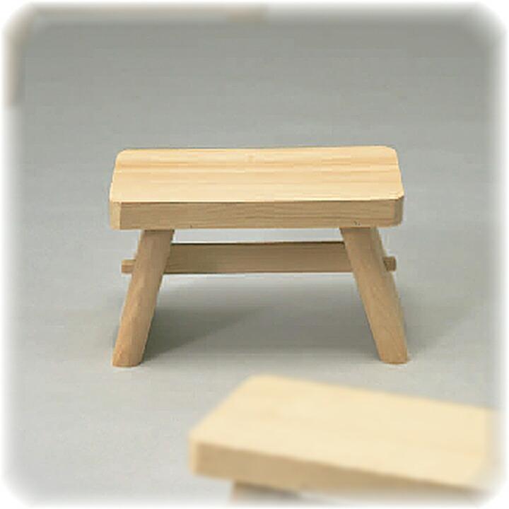 昔ながらの木製風呂椅子 小