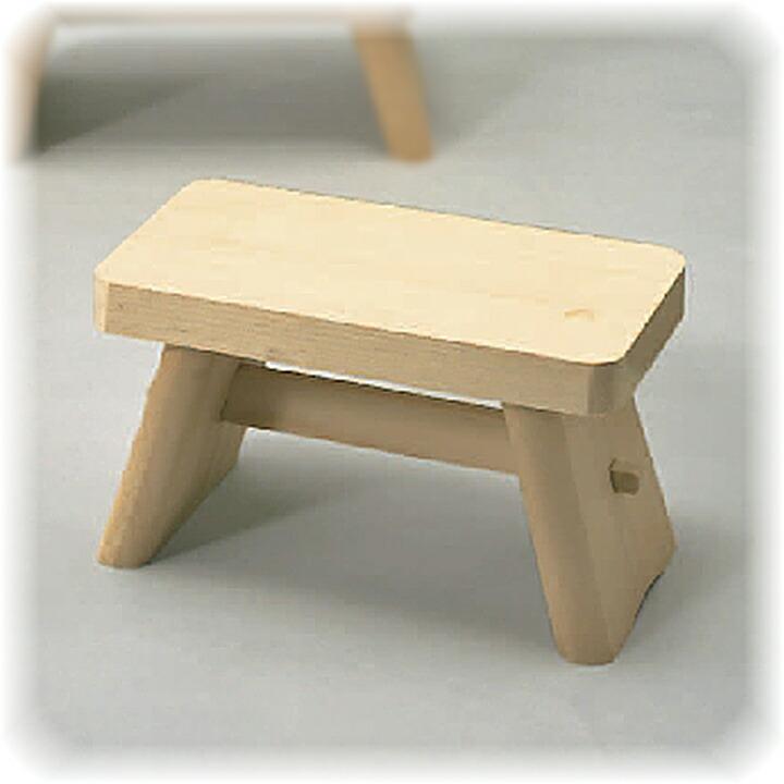 昔ながらの木製風呂椅子 大