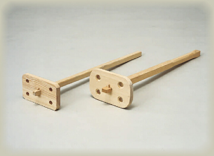 木製湯かき棒