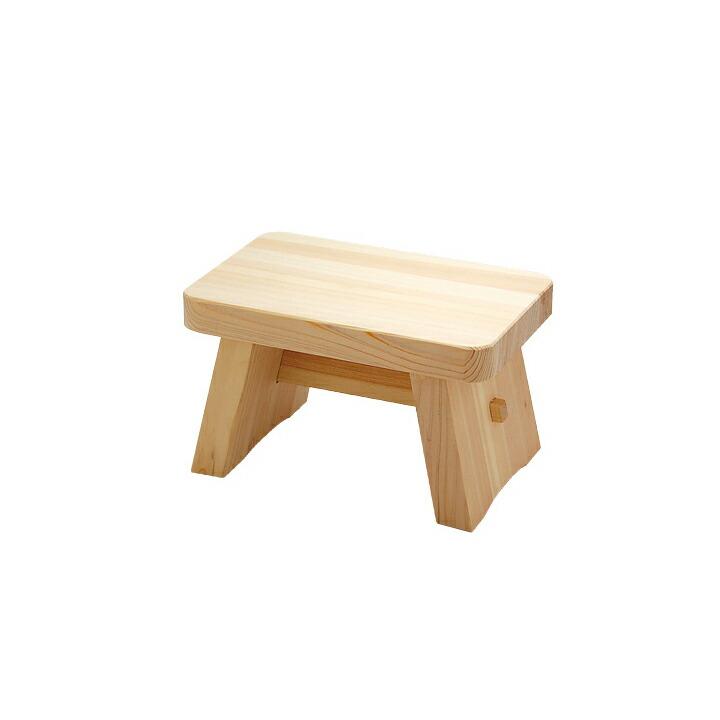 ひのき風呂椅子(中)
