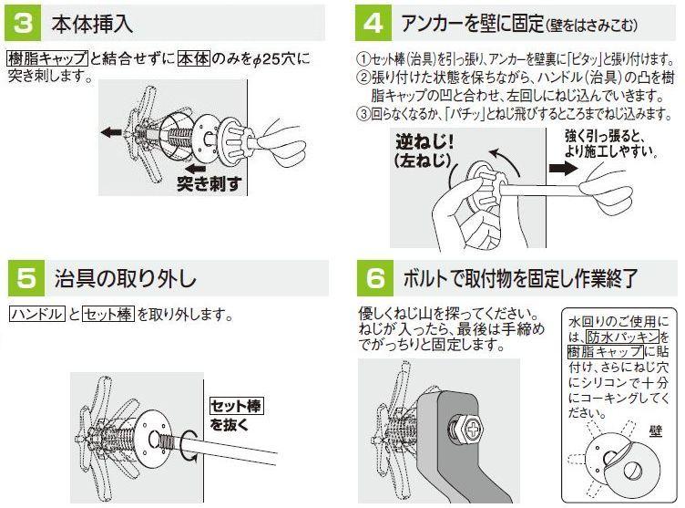 TQアンカーの施工方法 2