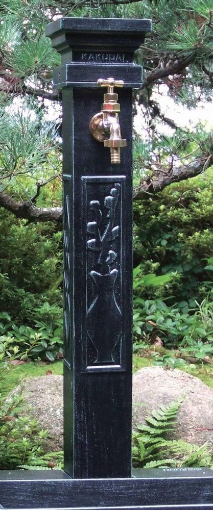 【楽天市場】レトロ水栓柱 624 026 W148 215 D148 215 H1100mm 水栓柱 水道 立水栓 カバー 水栓