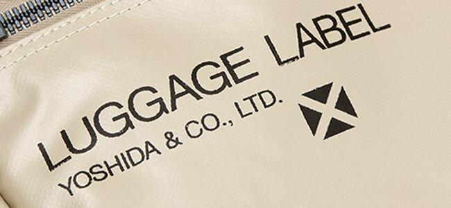 ラゲッジレーベル タンク トートバッグ 972-08802