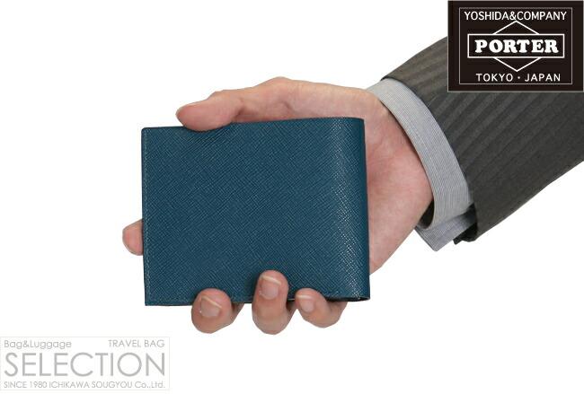 ポーター 二つ折り財布