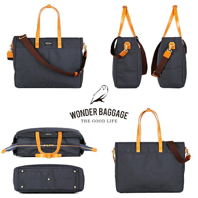 WONDER BAGGAGE ワンダーバゲージ Goodmans グッドマンズ URBAN TOOL BAG アーバンツールバッグ WB-G-003 トートバッグ
