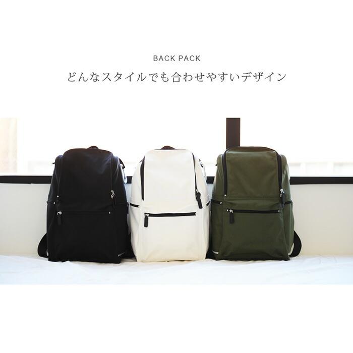 Gucciny&Co. rucksack ユニセックスで使える軽くて大容量な高機能リュック